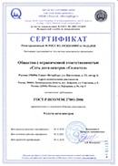 Сертификат Selectel